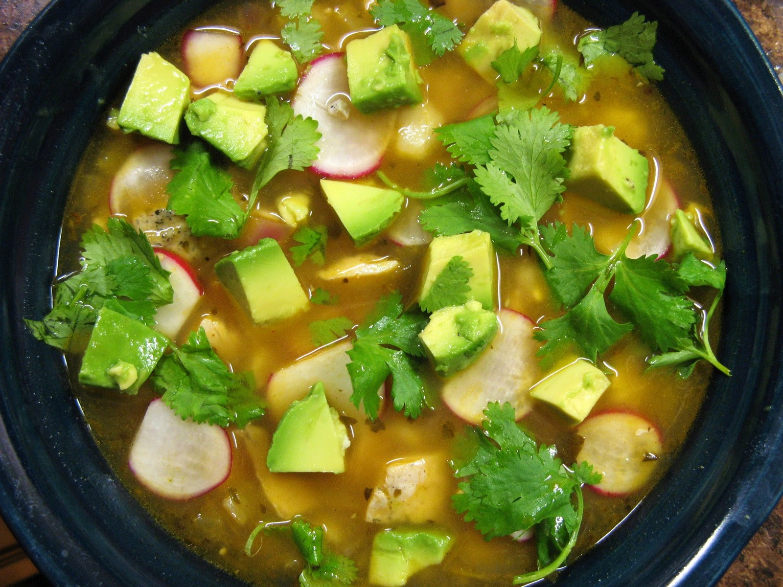 Chicken Posole Verde my Second Favorite Soup